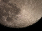 月面の手動コリメート試撮り