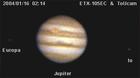ETX-105EC & ToUcam の木星&エウロパ&イオ