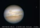 昨夜の木星