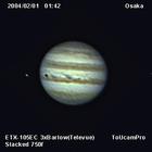 ETX-105EC & ToUcam の木星